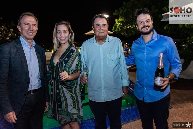 Philippe Godefroit, Victoria Sarro, Dionisio Barsi e Andre The