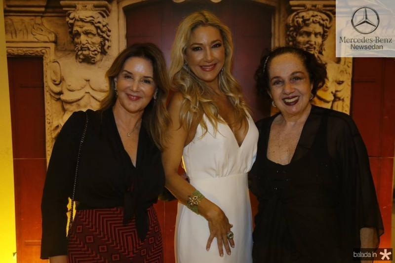 Fernanda Mattoso, Carmen Rangel e Tania Leitao