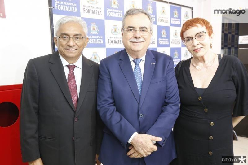 Eliomar de Lima, Assis Cavalcante e Eugenia Nogueira