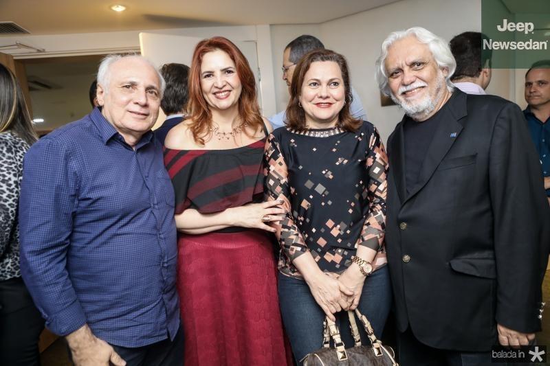 Ricardo Sabadia, Enid Camara, Marta Campelo e Joaquim Cartaxo
