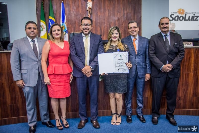 Fabio Timbo, Raquel Timbo, Marcio Martins, Roberta Vasques, Gladson Mota e Franze Gomes