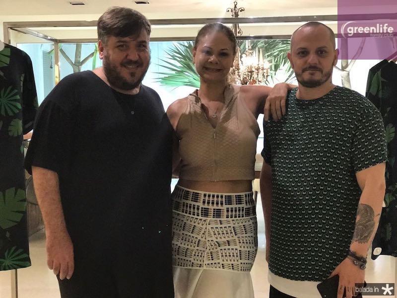 Leonan, Milena Lima e Giuliano