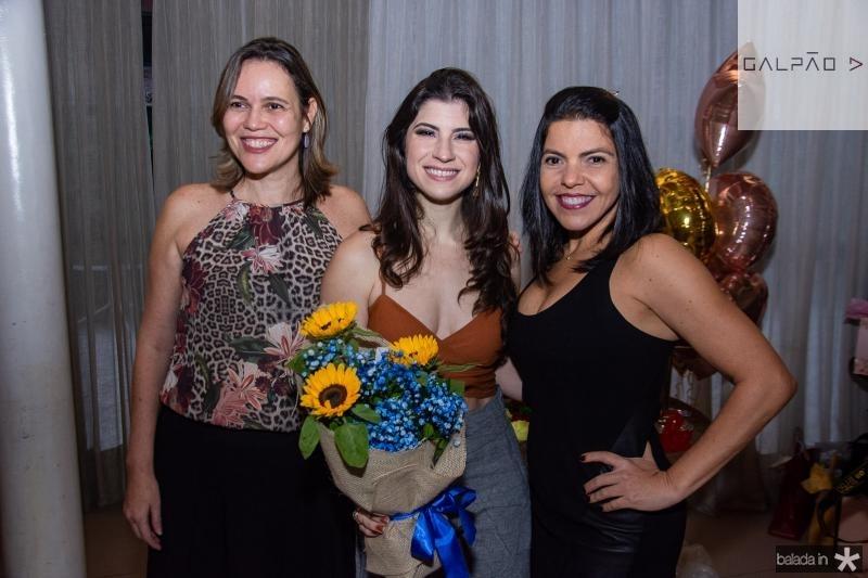 Gleize Maia, Themis Briand e Doroteia Pinto