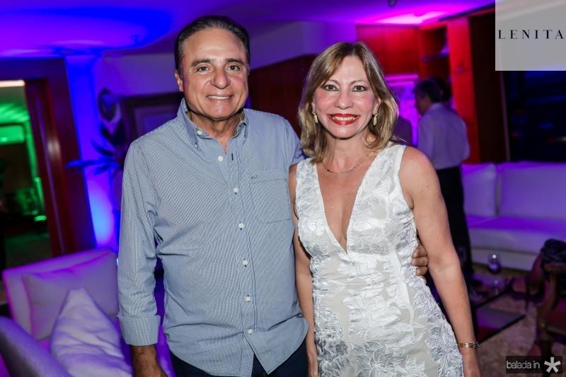 Nestor Silva e Eveline Pinheiro