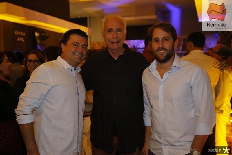 George Vieira, Jonny Wolff e Rodrigo Frota