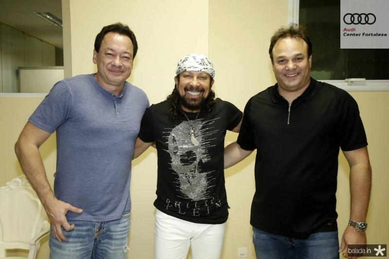 Pedro Neto, Bell Marques e Enio Cabral
