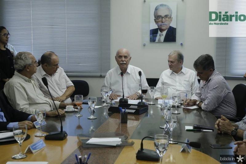 Bosco Macedo, Honorio Pinheiro, Freitas Cordeiro, Tasso Jereissati e Guilherme Theophilo