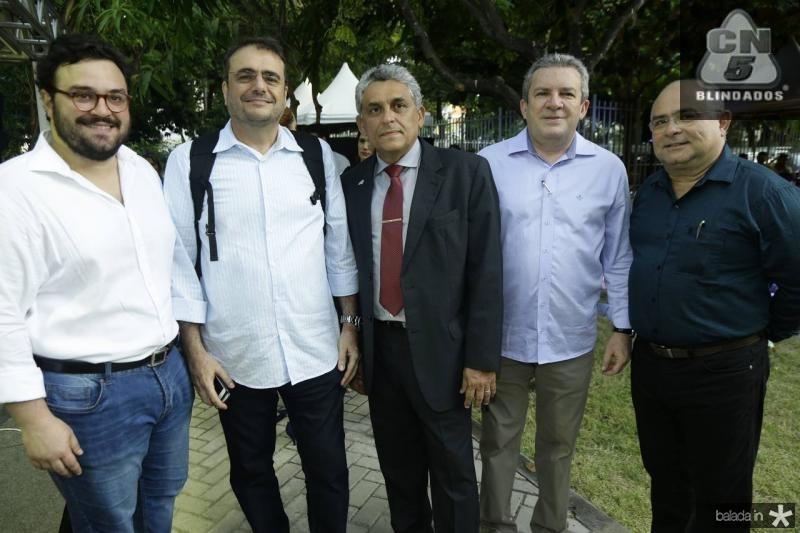 Alcimor Neto, Jose Leite, Jurandir Gurgel, Jaime Cavalcante e Ricardo Santiago