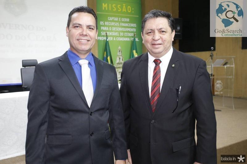 Alexandre Possidonio e Jose de Melo Neto