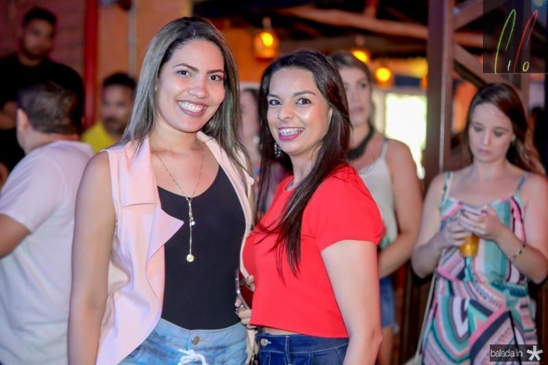 Meika Marreiro e Tamiza Lima