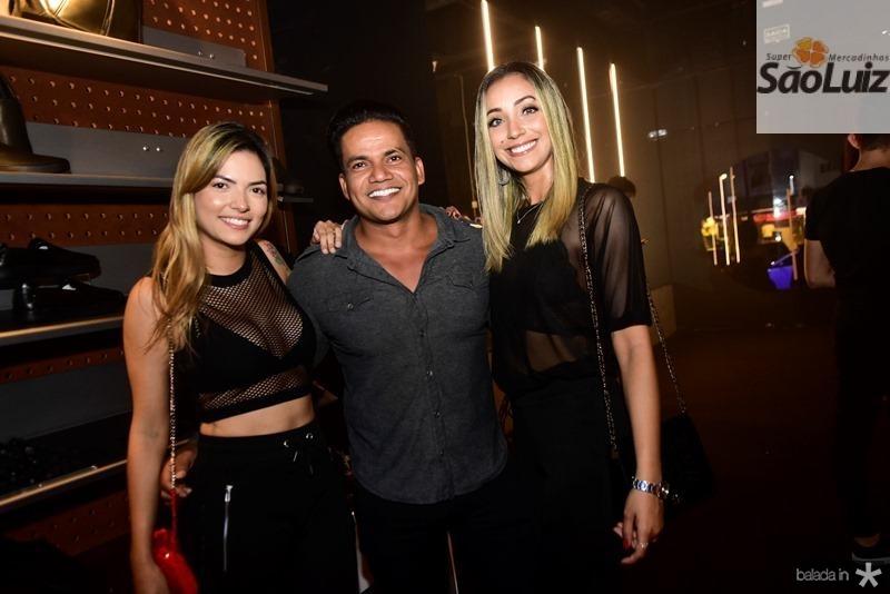 Amanda Vasconcelos, Netinho, Nayane Silva