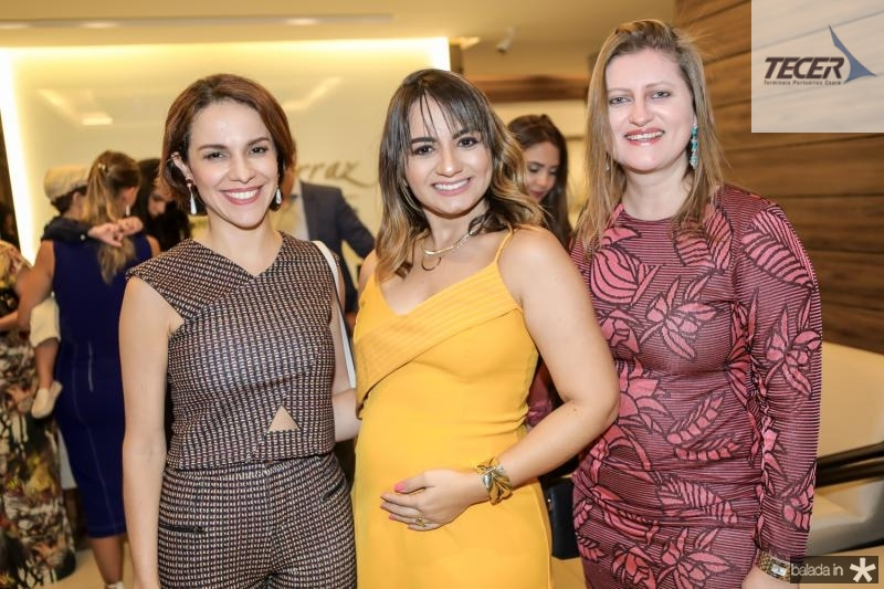 Roberta Bezerra, Cleane Fontenele e Telma Regina