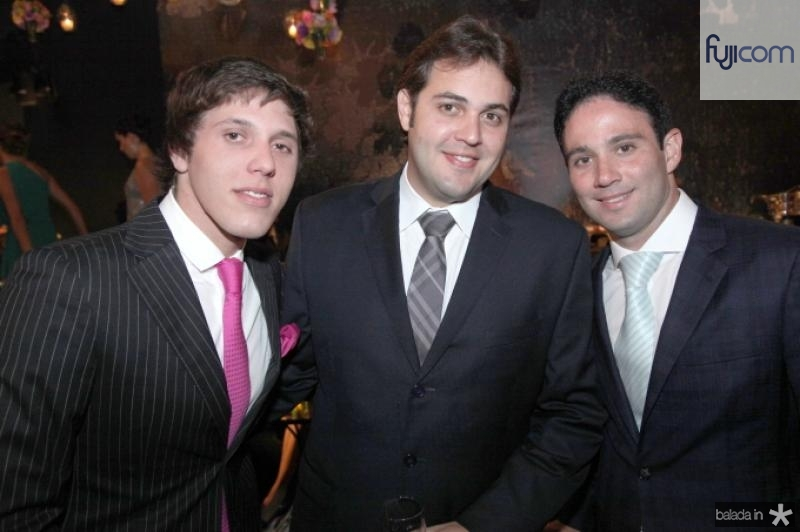 Aloisio Neto, Bruno Bastos e Tiago Asfor