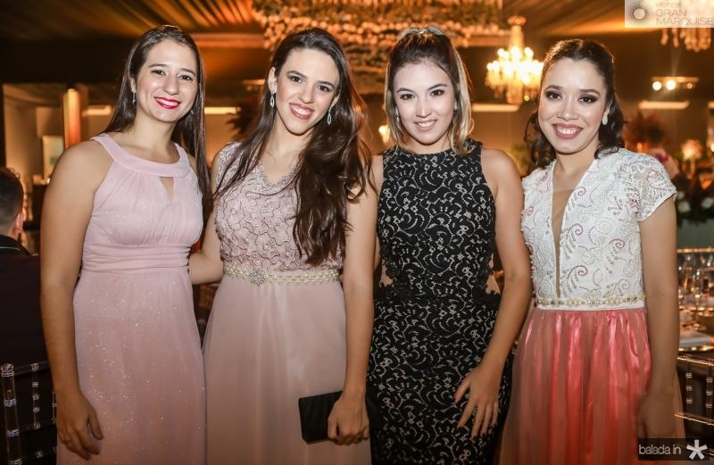 Amanda Hoanda, Josiane Ozorio, Lia Gadelha e Raquel Veras