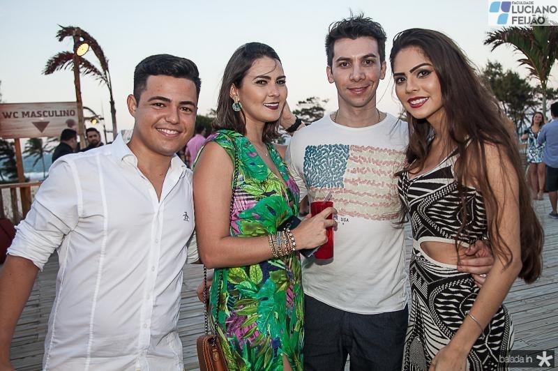Jordan Mateus, Fabiana Vasconcelos, Davi Queiroz e Bianca Herbene