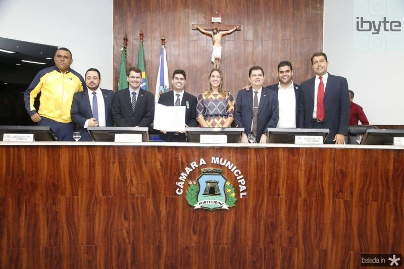 Francisco Wellington, Ricardo Valente, Rogerio Pinheiro, Mauro Benevides Neto, Larissa Gaspar, Mauro Filho e Davi Benevides e Gony Arruda 1