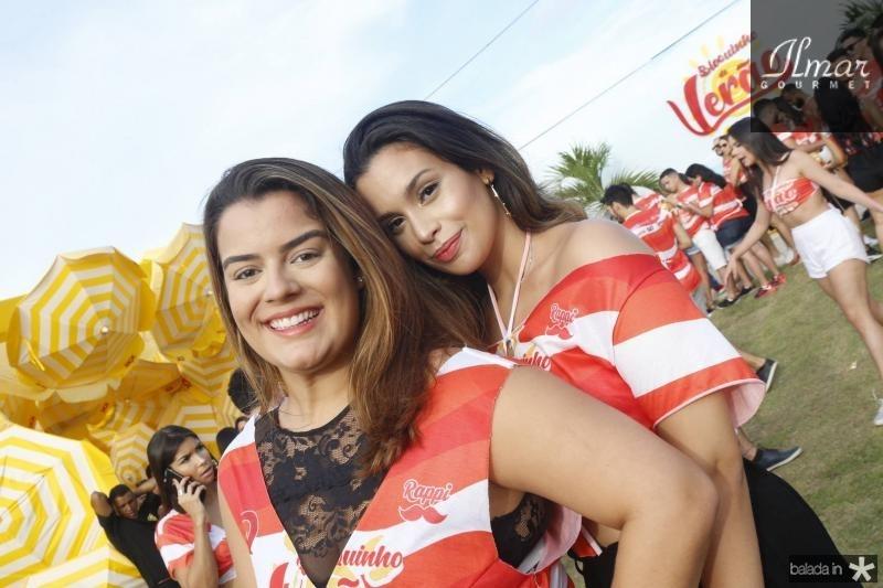 Vitoria Bitu e Marina Bezerra