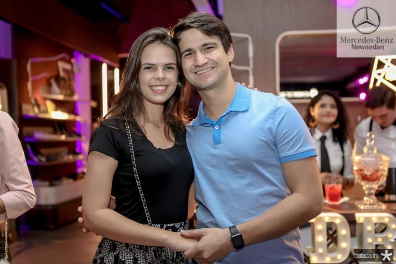 Isabel Miranda e Pedro Gomes de Matos
