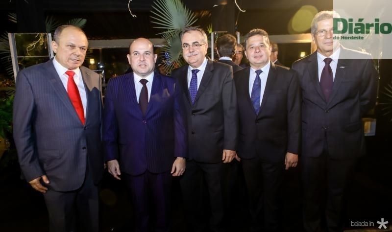 Honorio Pinheiro, Roberto Claudio, Assis Cavalcante, Gerardo Bastos Filho e Ramalho Neto