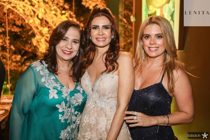 Martinha Assunçao, Lorena Pouchain e Leticia Studart