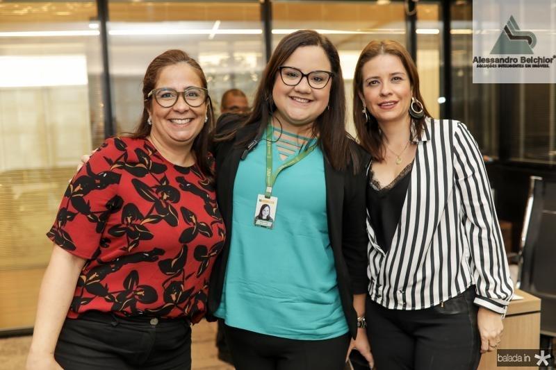 Ana Xavier, Natalia Portela e Rocaia Diltra