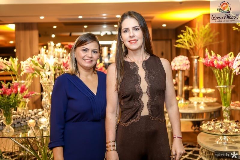 Meire Freitas e Lara Freimanes