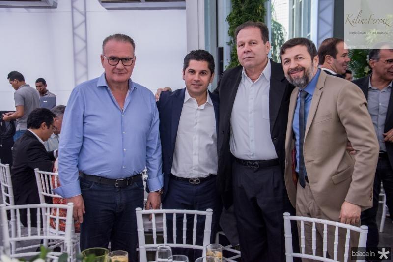 Chiquinho Feitosa, Pompeu Vasconcelos e Julio Ventura e Elcio Batista