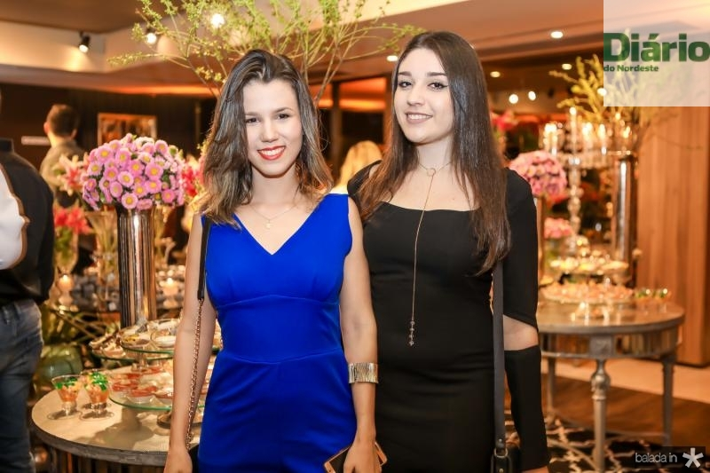 Mabile Paiva e Ana Carolina Alves