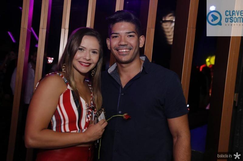 Andressa Mikaele e Iury Medeiros