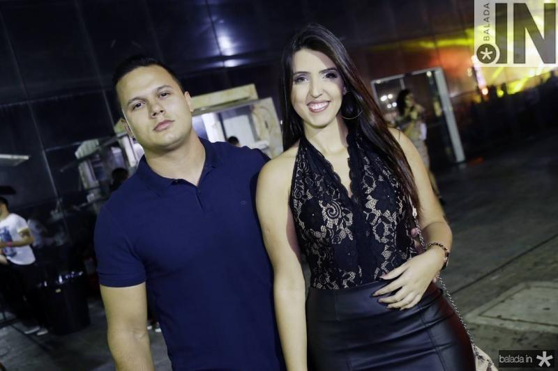 Julio Simplicio e Anne Melo