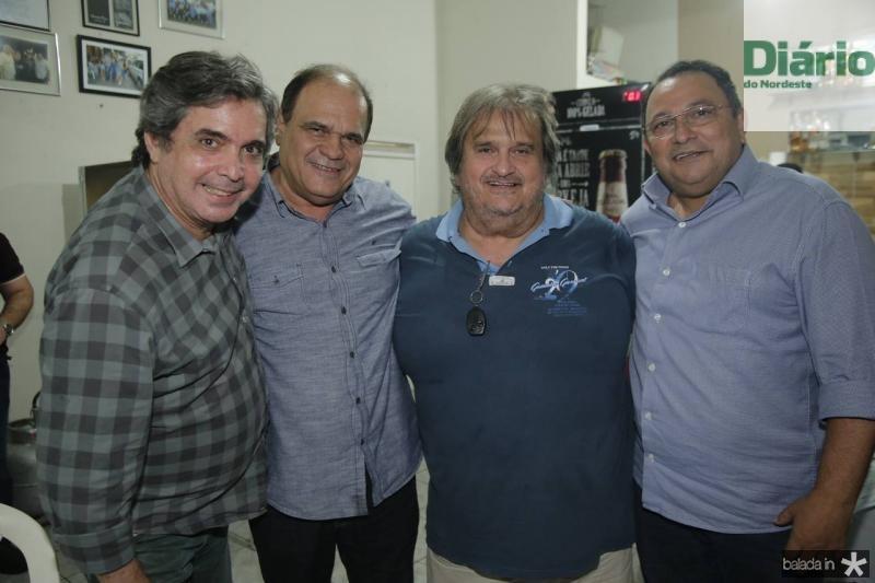 Totonho Laprovitera, Roberto Moreira, Vaval e Moacir Maia