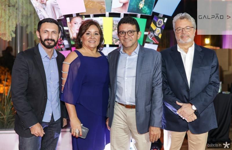 Francisco Custodio, Norma e Helio Brito, Ricardo Paiva