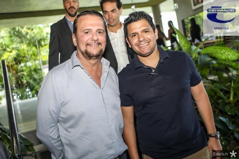Adrisio e Eduardo Camara