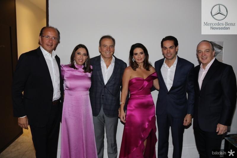 David Bastos, Luciana e Binho Bezerra, Renata e Claudio Vale,  Raul Penteado