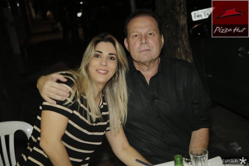Maria Celia Ferreira Gomes e Julinho Ventura