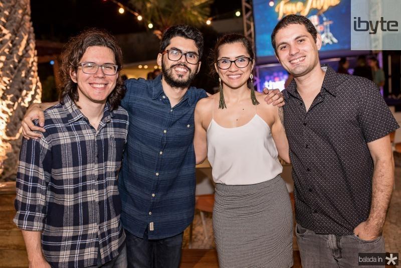 Marcos Mourao, Cid Guimaraes, Ana Virginia e Elton Mesquita