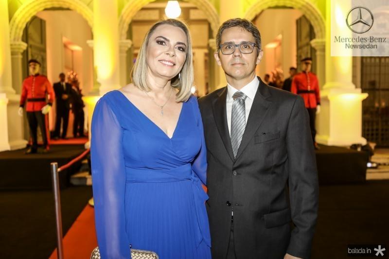 Katia Magalhaes e Adriano Paiva