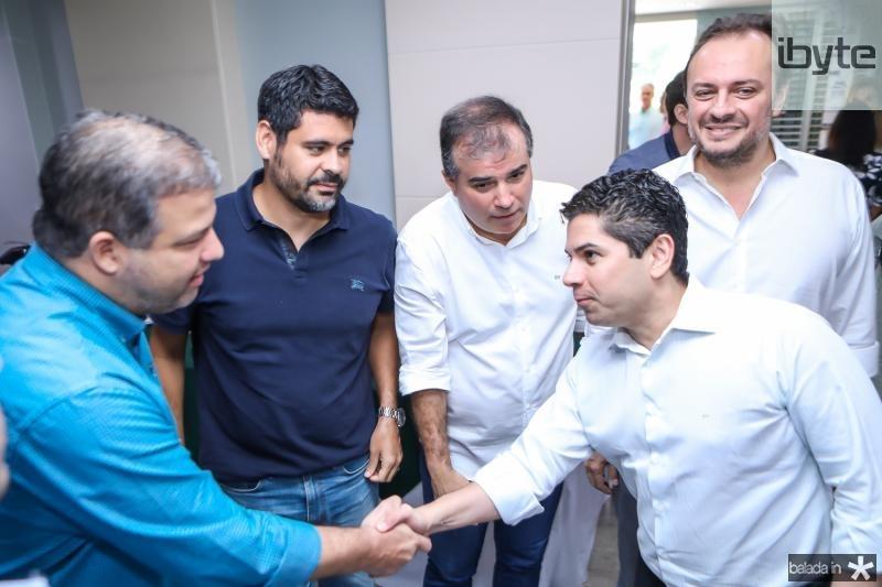 Aderaldo Soares, Felipe Capistrano, Ricardo Bezerra, Pompeu Vasconcelos e Adriano Nogueira