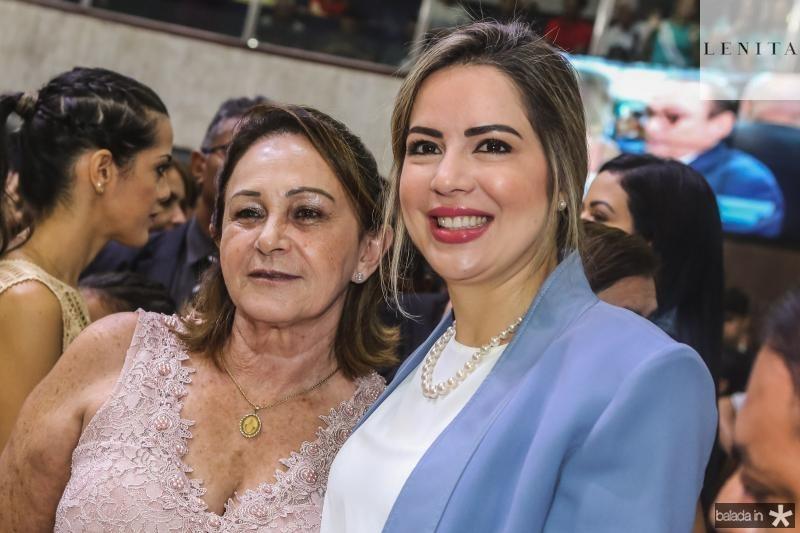 Lucia e Onelia Santana