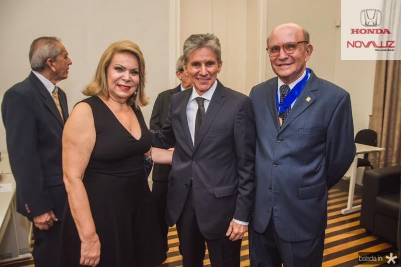 Iracema do Vale, Padua Lopes e Joao Soares Neto
