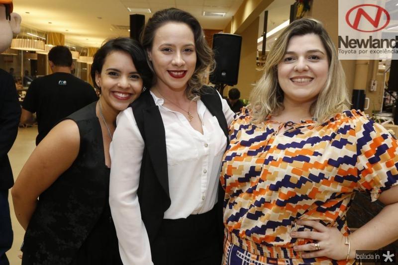Murira Rocha, Mayara Macdowel e Karime Loureiro