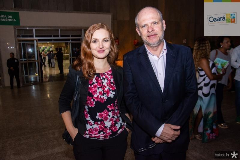 Marta Obelheiro e Sergio Avelheira