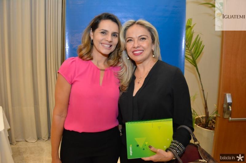 Ana Beatriz Passos e Edna Loureiro