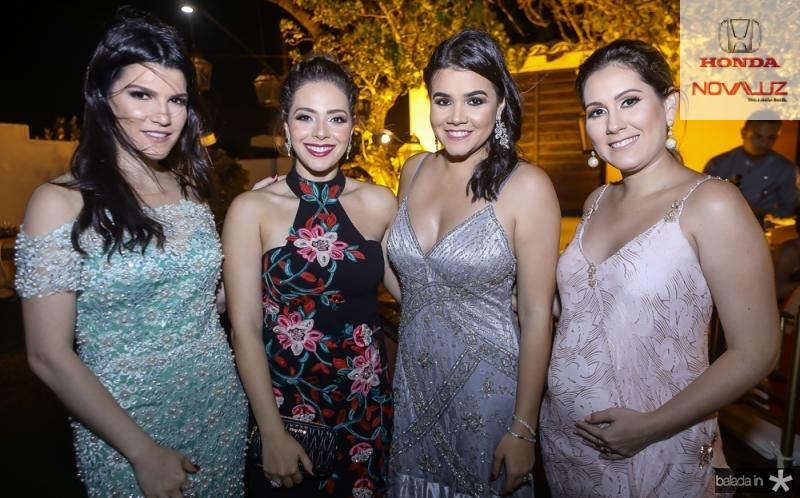 Liana Brasil, Gabriela Teixeira, Priscila Leal e Paula Rolim