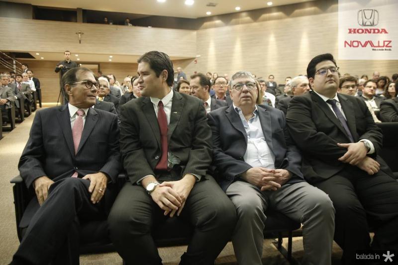 Beto Studart, Fernando Laureano, Maia Junior e Yuri Torquato