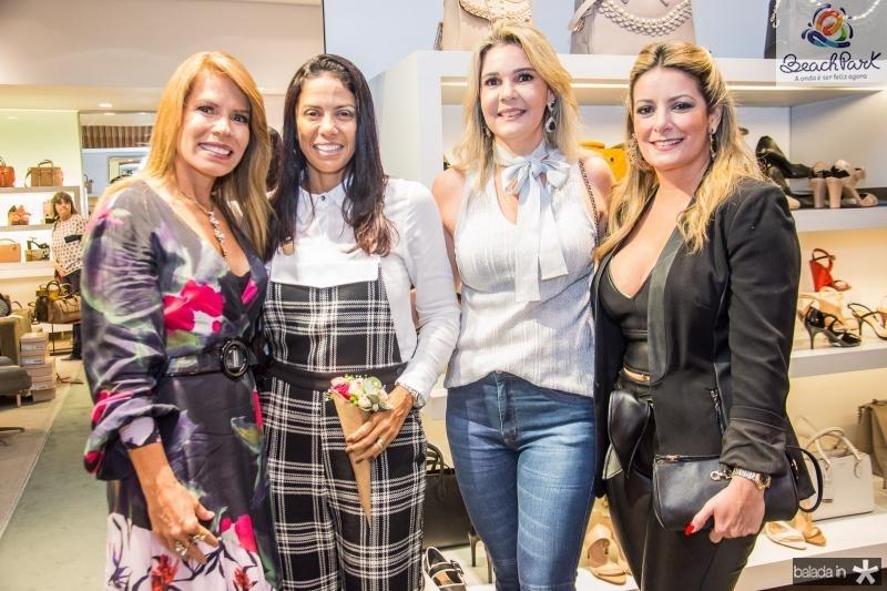 Maira Silva, Daniele Filgueiras, Micheline Bezerra e Tatiana Luna