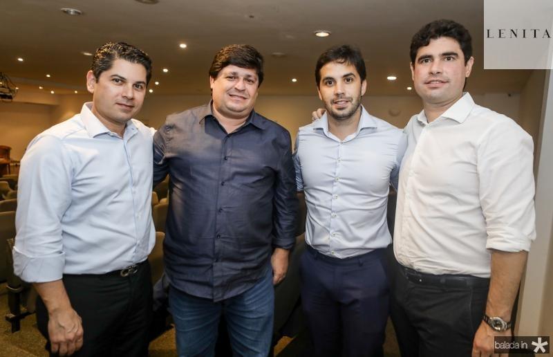 Pompeu Vasconcelos, George Lima, Netinho Baide e Bruno Barreira
