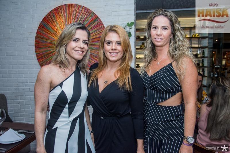Carla Nogueira, Leticia Studart e Carol Picanso