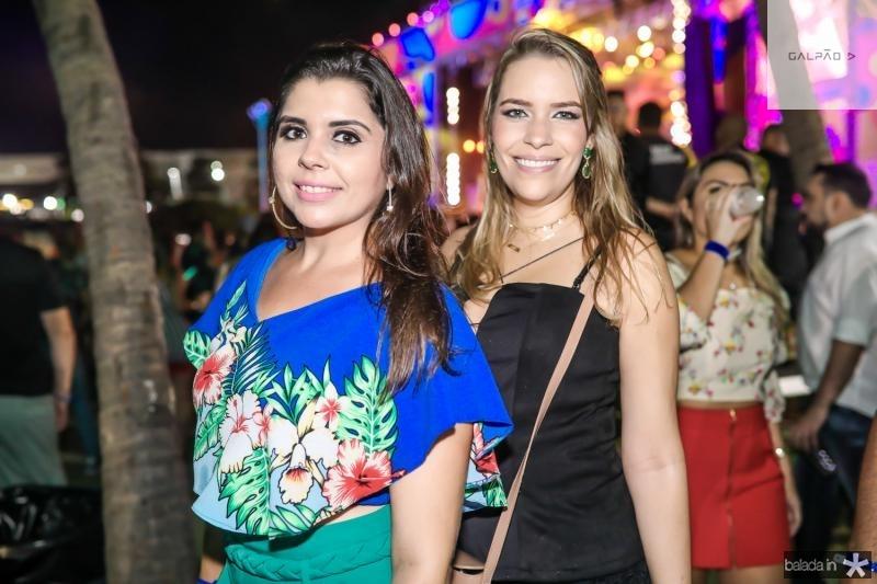 Ravena Benevides e Gabriela Oliveira