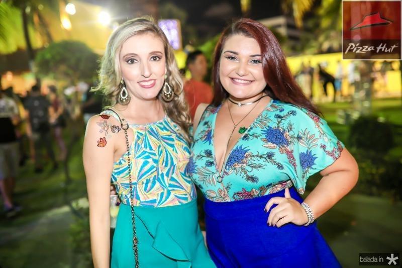 Aline Frota e Gessica Martins